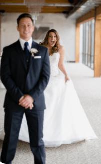 Tradiciones de boda. First Look