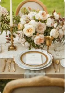 Tendencia de bodas: Vajilla vintage